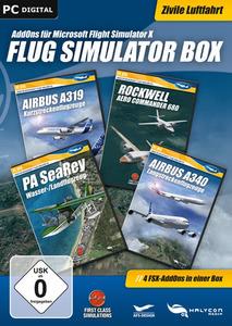 Verpackung von FSX Flug Simulator Box - Zivil [PC]