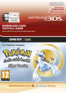 Packaging of Pokémon Silber [3DS]