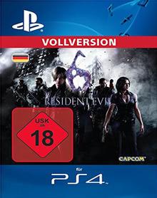 Verpackung von Resident Evil 6 [PS4]