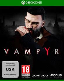 Verpackung von Vampyr [Xbox One]