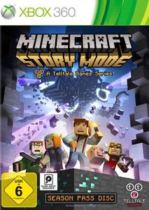 Verpackung von Minecraft: Story Mode [Xbox 360]