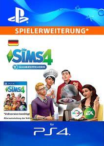 Verpackung von Sims 4 Gaumenfreuden - deutsches PSN-Konto [PS4]