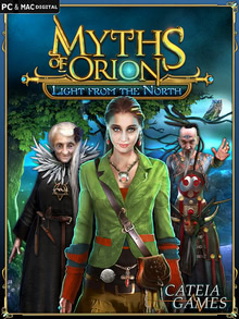 Packaging of Myths of Orion: Light from the North [Mac]