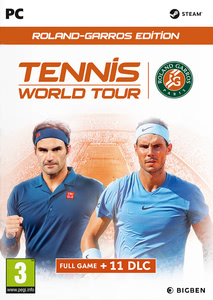 Packaging of Tennis World Tour Roland Garros Edition [PC]