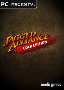 Packaging of Jagged Alliance Gold [Mac]