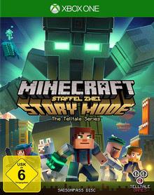 Verpackung von Minecraft Story Mode: Season 2 Season Pass Disc [Xbox One]