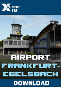Packaging of X-Plane 10 Airport Frankfurt-Egelsbach XP [PC]