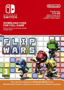 Packaging of Flip Wars [Switch]