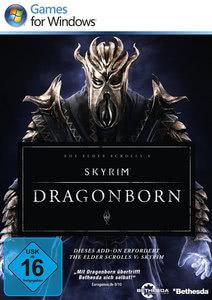 Verpackung von The Elder Scrolls V: Skyrim Dragonborn [PC]