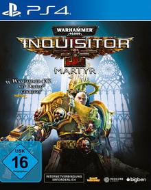 Verpackung von Warhammer 40.000 Inquisitor Martyr [PS4]
