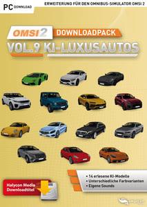 Verpackung von OMSI 2 Downloadpack Vol. 9 - KI-Luxusautos [PC]