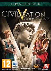 Packaging of Sid Meier's Civilization V - Gods and Kings [Mac]