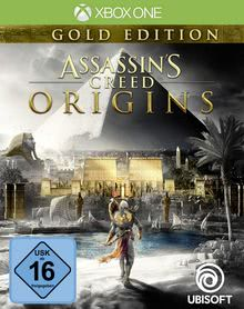 Verpackung von Assassin's Creed Origins Gold Edition [Xbox One]