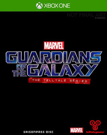 Verpackung von Guardians of the Galaxy - The Telltale Series [Xbox One]
