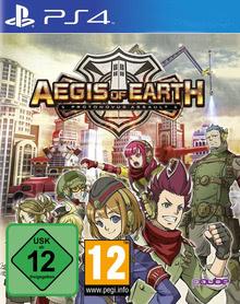 Verpackung von Aegis of Earth: Protonovus Assault [PS4]