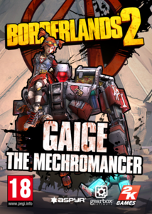 Packaging of Borderlands 2 Mechromancer Pack [Mac]
