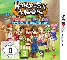 Verpackung von Harvest Moon: Dorf des Himmelsbaumes [3DS]