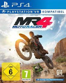 Verpackung von Moto Racer 4 - PlayStation VR kompatibel [PS4]