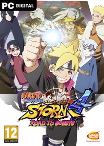 Emballage de Naruto Shippuden Ultimate Ninja Storm 4: Road to Boruto [PC]
