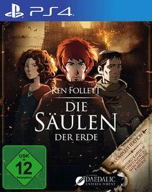 Verpackung von Ken Follett's Die Säulen der Erde [PS4]