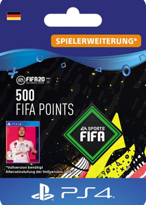 Verpackung von FIFA 20 500 FUT Points Pack - Ultimate Team [PS4]