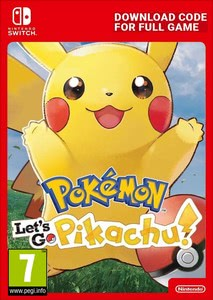 Packaging of Pokémon Let's Go, Pikachu! [Switch]