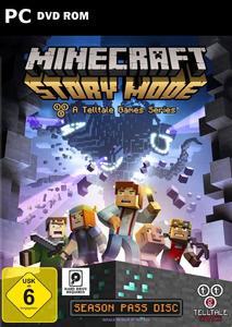 Verpackung von Minecraft: Story Mode [PC]