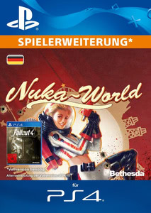Verpackung von Fallout 4 Nuka World [PS4]
