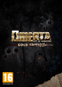 Packaging of Omerta: City of Gangsters Gold Edition [PC]