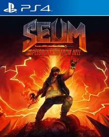 Verpackung von SEUM - Speedrunners from Hell [PS4]