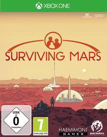 Verpackung von Surviving Mars [Xbox One]
