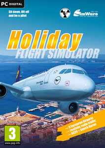 Packaging of Holiday Flight Simulator [PC]