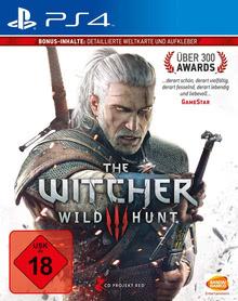 Verpackung von The Witcher 3: Wild Hunt (2. Auflage) [PS4]