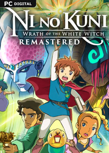 Verpackung von Ni no Kuni Wrath of the White Witch Remastered [PC]