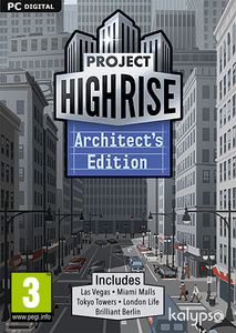 Packaging of Project Highrise Architect's Edition [PC / Mac]