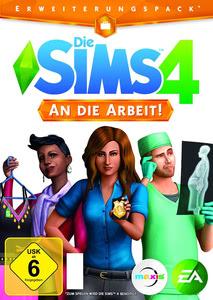 Verpackung von Die Sims 4 - Add On An die Arbeit [PC / Mac]