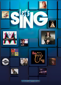 Packaging of Let's Sing [PC]