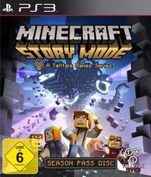 Verpackung von Minecraft: Story Mode [PS3]