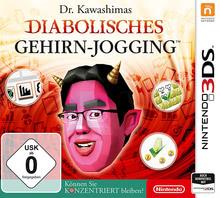 Verpackung von Dr. Kawashimas diabolisches Gehirn-Jogging: Können Sie konzentriert bleiben? [3DS]
