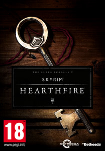 Packaging of The Elder Scrolls V: Skyrim DLC: Hearthfire [PC]