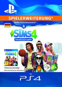 Verpackung von Sims 4 City Living - Deutsches PSN-Konto [PS4]