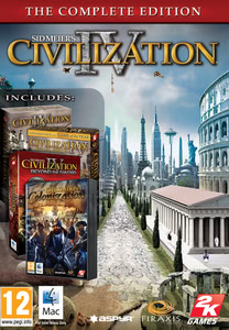 Packaging of Sid Meier's Civilization® IV Complete [Mac]