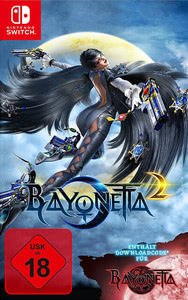 Verpackung von Bayonetta 2 inkl. Bayonetta 1 Download Code [Switch]