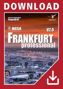 Packaging of Prepar3D V4 Mega Airport Frankfurt V2.0 professional [PC]