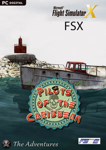 Packaging of FSX Pilots of the Caribbean - The Adventures [PC]