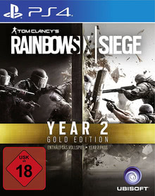 Verpackung von Tom Clancy's Rainbow Six: Siege Gold Edition - Year 2 Pass [PS4]