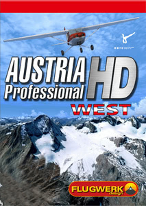 Packaging of FSX Austria Professional HD - West [PC]