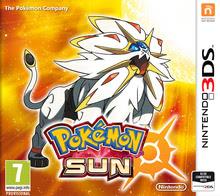 Packaging of Pokemon Sun [3DS]