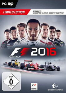 Verpackung von F1 2016 Limited Edition (D1 Edition) [PC]