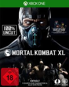 Verpackung von Mortal Kombat XL (100% Uncut) [Xbox One]